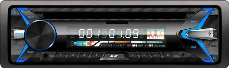 5251 one din fix panel USB MP3 player