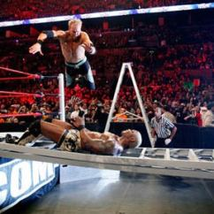 What Are Wwe Chairs Made Of Sunbrella Dining Chair Cushions Tables, Ladders And Recap - Ign