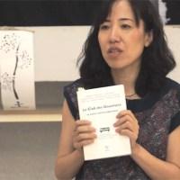 Ryoko Sekiguchi invitée du cercle littéraire de Mèze