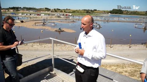 Visite de la nouvelle station d'épuration de Mèze - Loupian