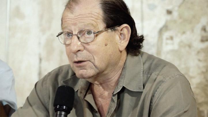 Jean-Louis Blénet, président des Calandreta aux éco-dialogues du Festival de Thau