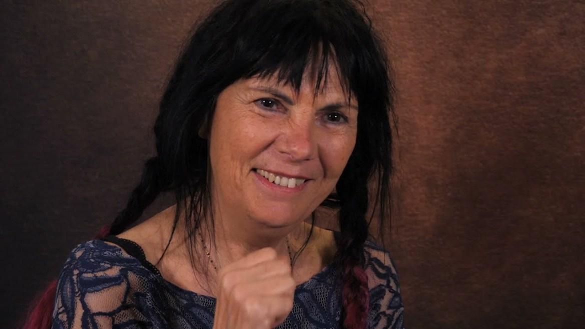 Brigitte, artiste peintre professionnelle