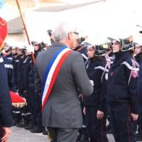 Cérémonie de la Sainte Barbe à la caserne des pompiers de Mèze