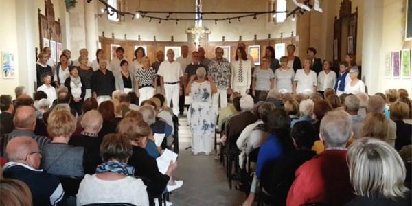 La Chorale d'Ici et d'Ailleurs ouvre les journée du patrimoine à Mèze
