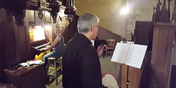 Concert d'orgue à l'église St Hilaire de Mèze