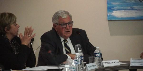 Conseil municipal de la ville de Mèze du 11 mai 2017 – Débat sur la vente du Thalassa : Intervention de Yves Pietrasanta