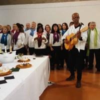 La chorale de Bouche à Oreille pour les Amis de la Chapelle des Pénitents