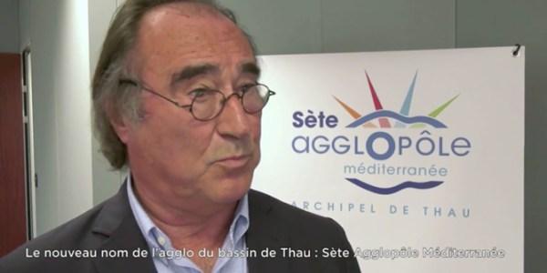 Présentation du logo Sète Agglopôle Méditerranée