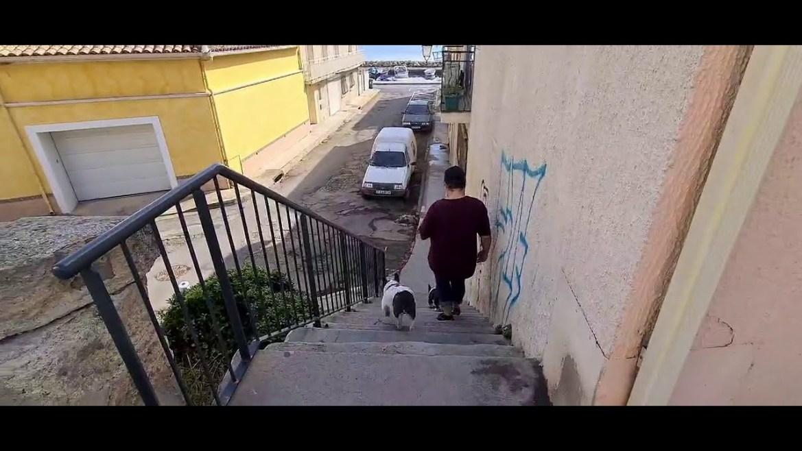 Mèze vue de la terre – les rues de Mèze