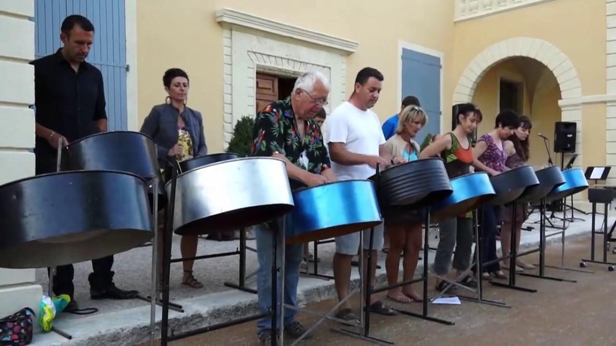 Semaine de la musique 2013 : Atelier steel drum morceau 1