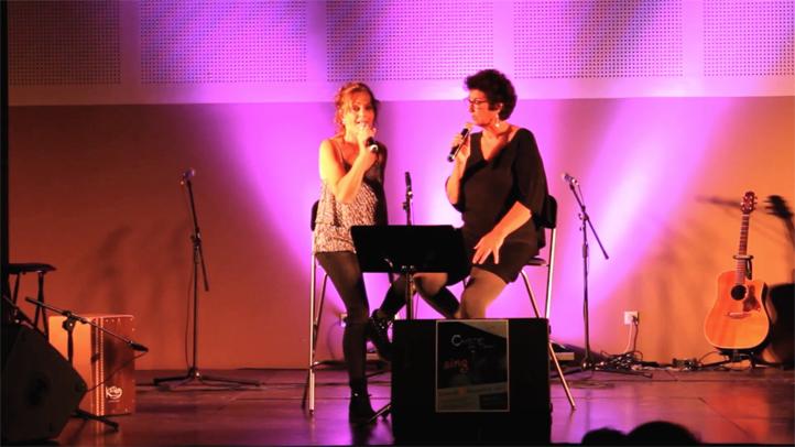 1 er spectacle de Thau Voice Académie