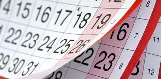 Осигурителен календар за м. декември 2019 г.