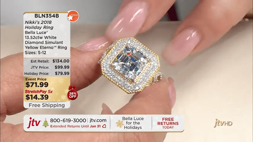 Jewelry Television Live Stream 1-29-34 screenshot