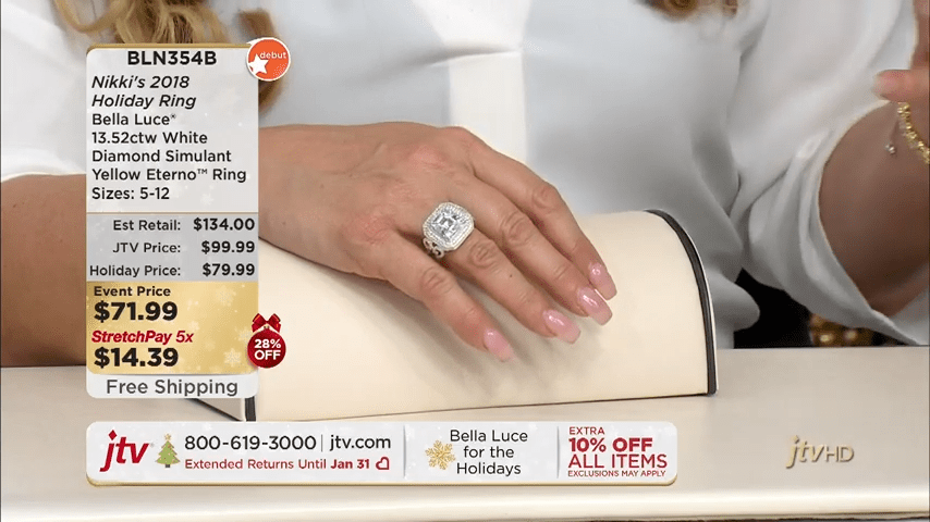 Jewelry Television Live Stream 1-29-45 screenshot
