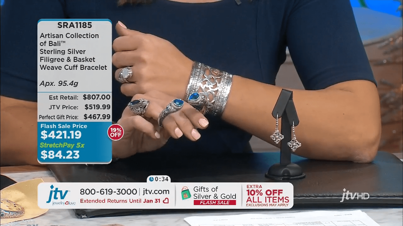 Jewelry Television Live Stream 4-31-2 screenshot