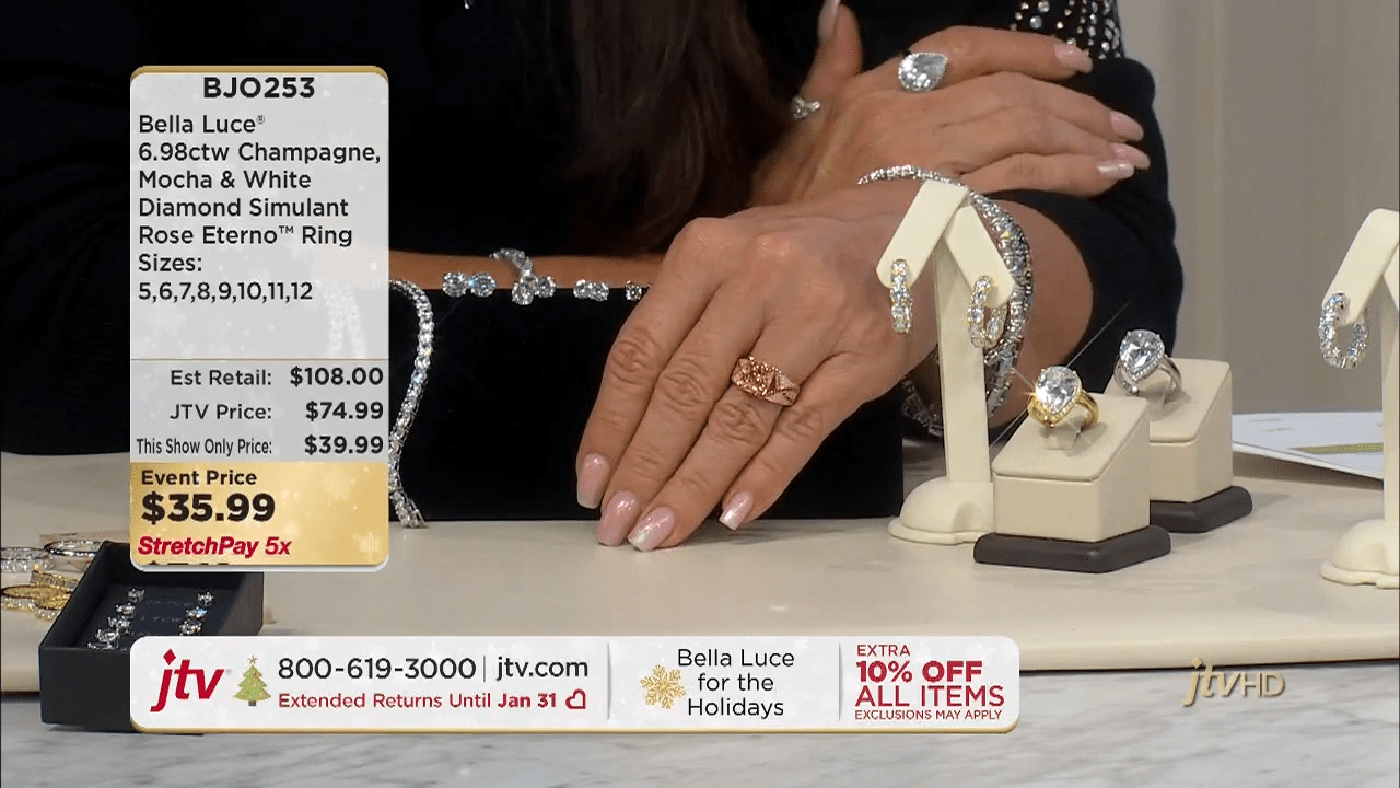 Jewelry Television Live Stream 5-11-45 screenshot