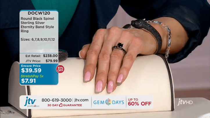 jewelry television live stream 11-22-41 screenshot