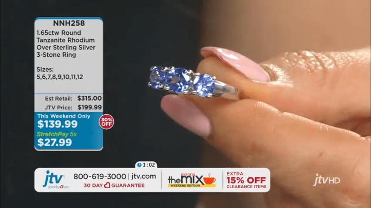 Jewelry Television Live Stream 14-13-27 screenshot