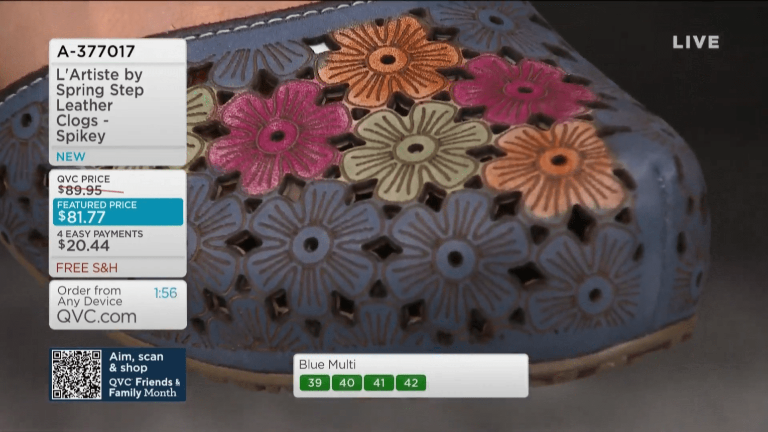 QVC Live Stream 13-34-13 screenshot