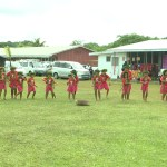 Impressive Alofi North women leaders ask the government for a new access road at the village show day