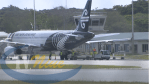 First flight in months, with 25 passengers arrived from Auckland today