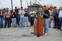 Daily news conference in Joplin, MO