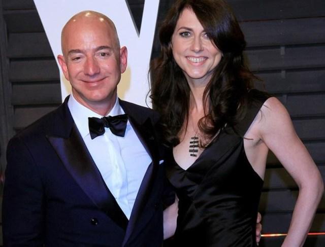 Jeff Bezos y su esposa se divorcian tras 25 años casados