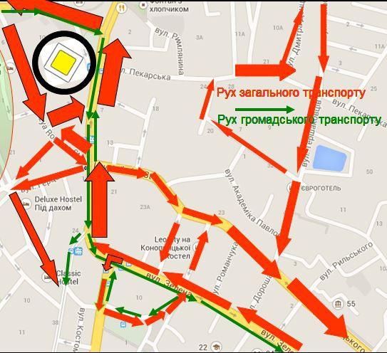 На Петрушевича планують збудувати підземний паркінг