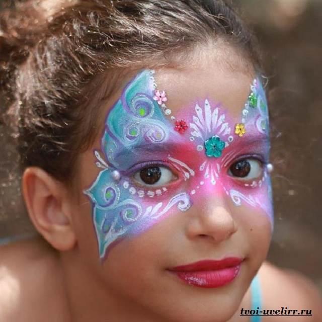 Аквагрим-Фото-аквагрима-Аквагрим-для-детей-3