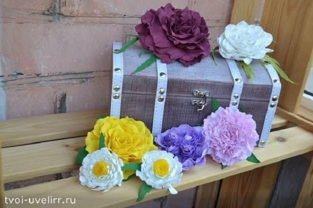 Что-такое-фоамиран-Цветы-из-фоамирана-17