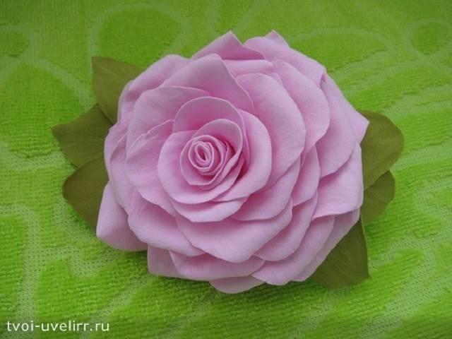 Что-такое-фоамиран-Цветы-из-фоамирана-18