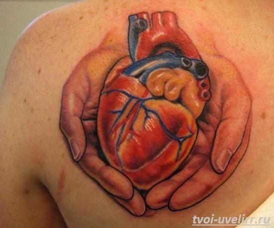 Тату-сердце-и-их-значение-4
