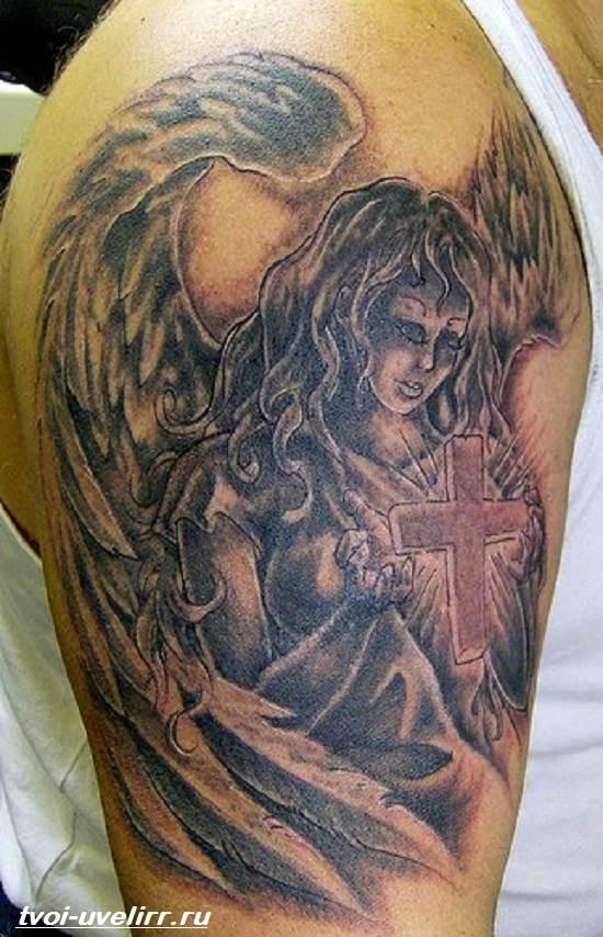 Тату-ангел-Значение-тату-ангел-Эскизы-и-фото-тату-ангел-2