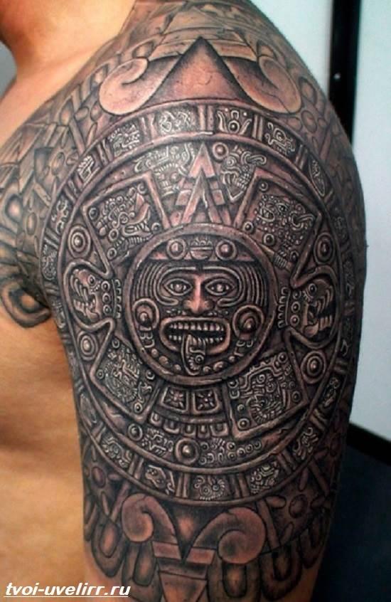 Тату-майя-Значение-тату-майя-Эскизы-и-фото-тату-майя-5
