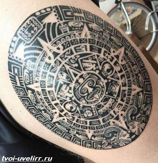 Тату-майя-Значение-тату-майя-Эскизы-и-фото-тату-майя-9