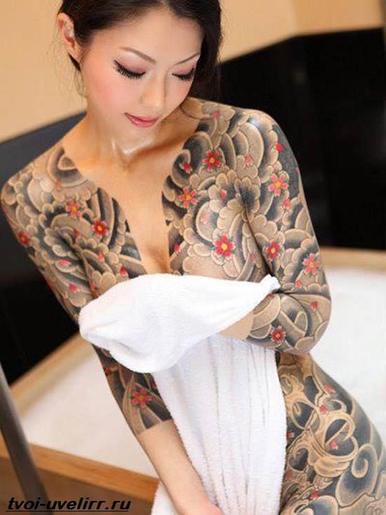 Тату-якудза-Значение-тату-якудзы-Эскизы-и-фото-тату-якудзы-8