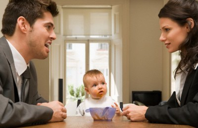 развод ребенок до года
