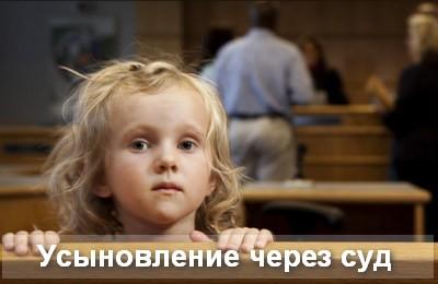 усыновление через суд