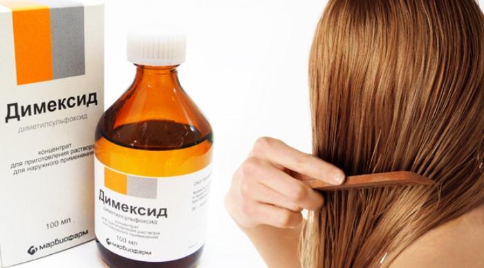 Маска для роста волос из димексида