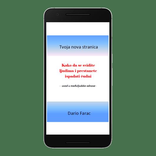 Mobitel s natpisom: Kako da se svidite ljudima i prestanete ispadati čudni.