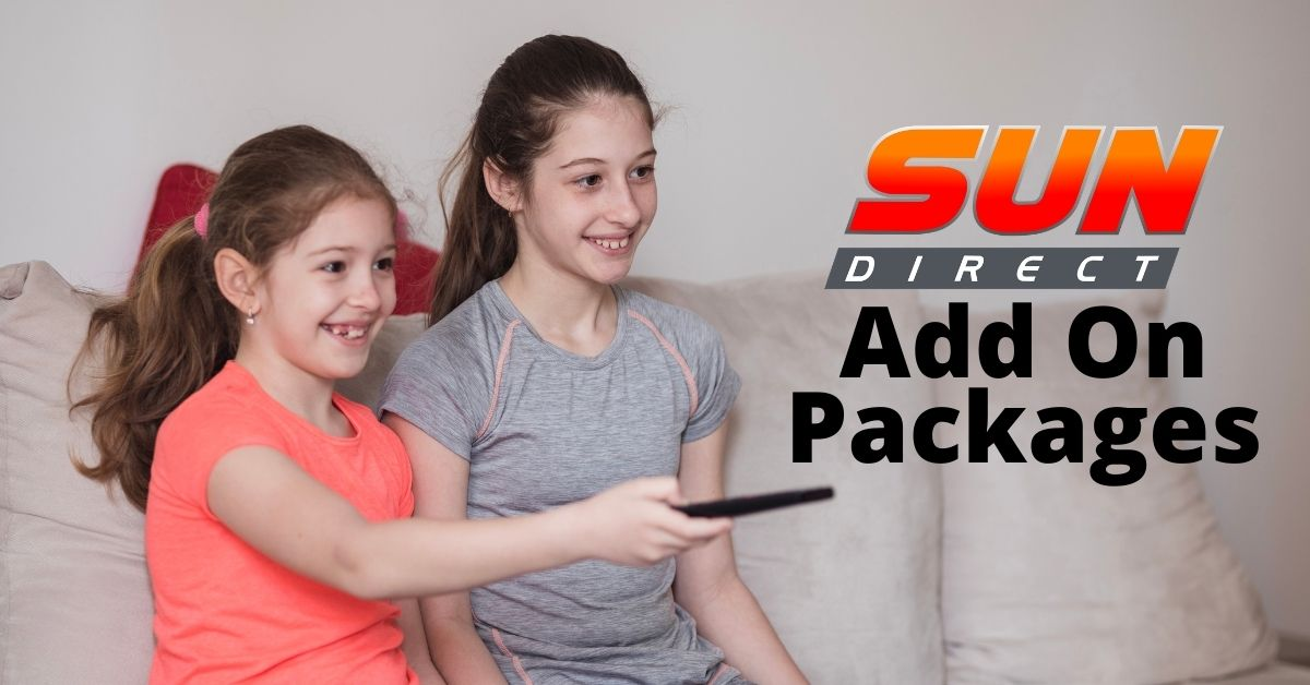 Sun Direct Add On Packages