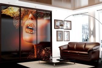 Фотопечать на мебели, зеркале, стекле.