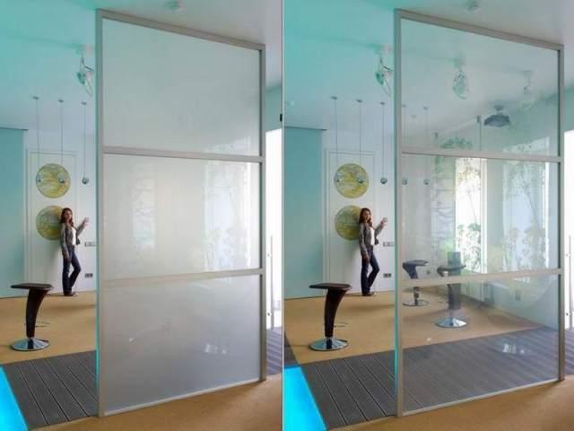 окна с изменяемой прозрачностью