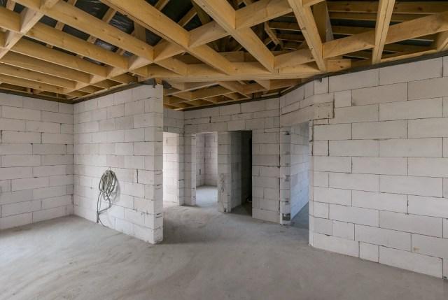 Внутренние стены из газосиликата