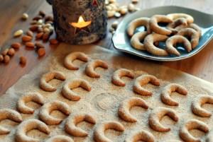 Mandlové rohlíčky s vanilkou