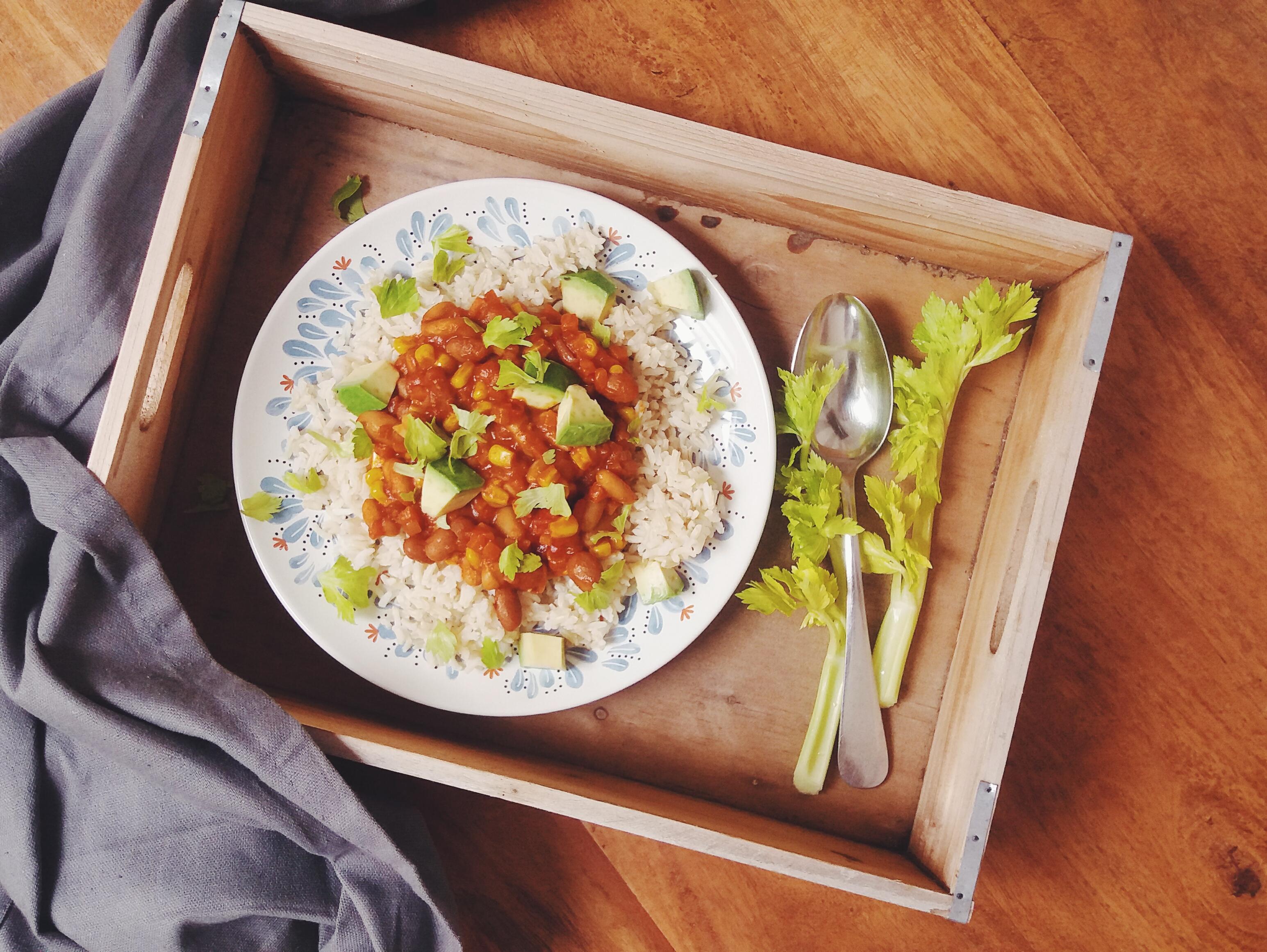 Vegetariánské chilli