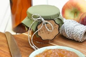 Marmeláda s jablky a calvadosem