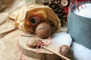 Perníkové sušenky s rumovým ovocem