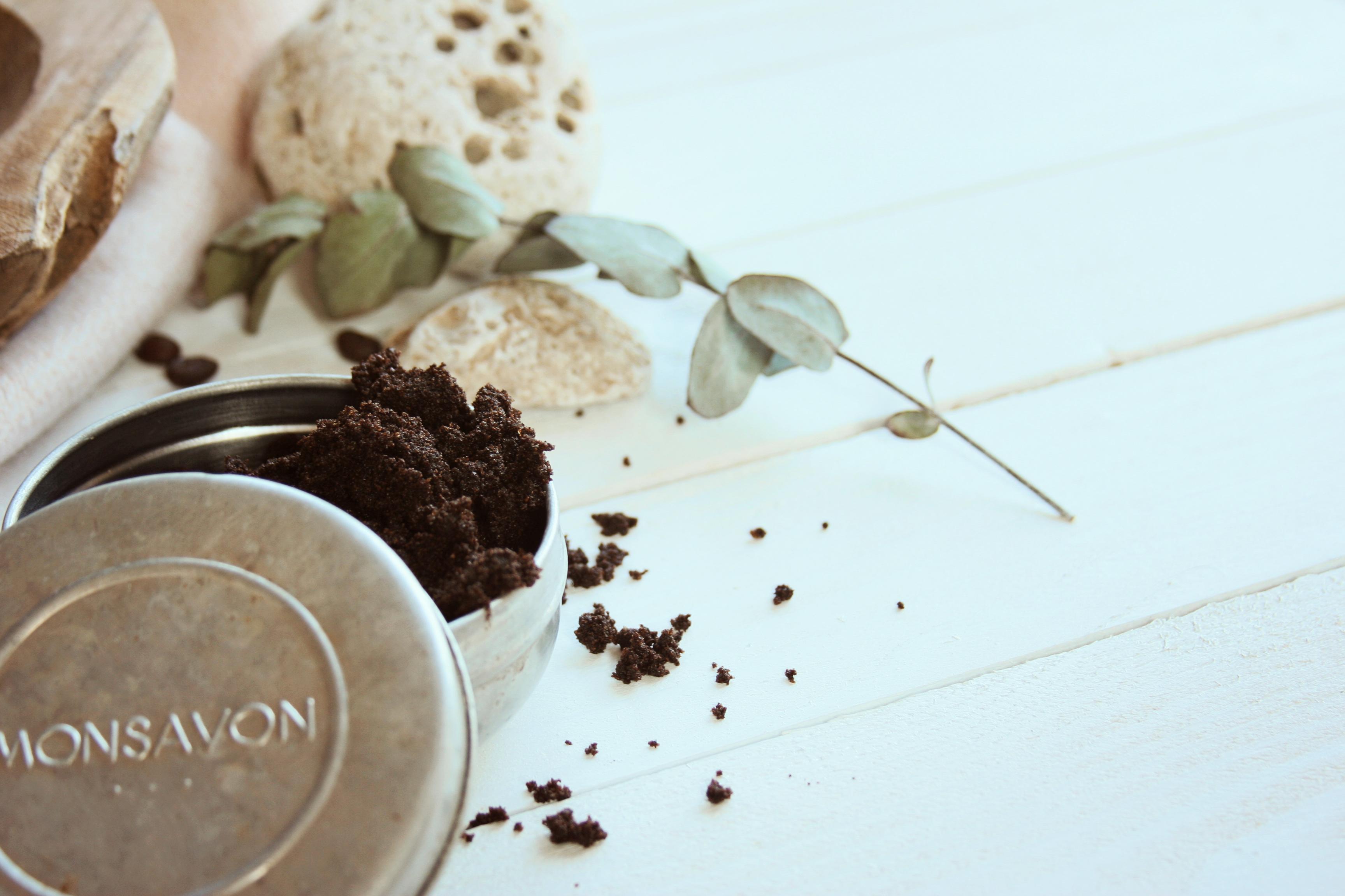 Kávový peeling s olivovým olejem