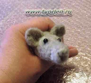 мышка сухое валяние